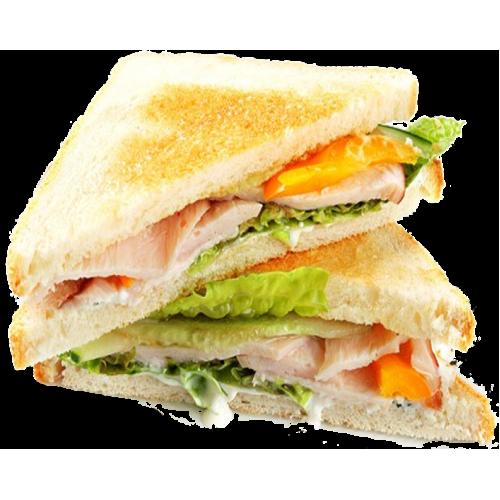 Сэндвич БЛТ (Бэкон, Латук, Томаты)